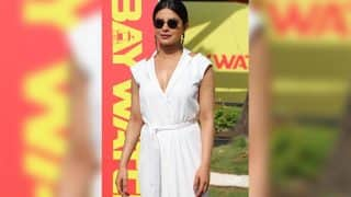Priyanka Chopra pulled off an all white look at the Baywatch media meet and gave us summer fashion goals!
