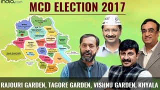 MCD Election results 2017: BJP wins Rajouri Garden, Tagore Garden, Vishnu Garden and Khyala ward