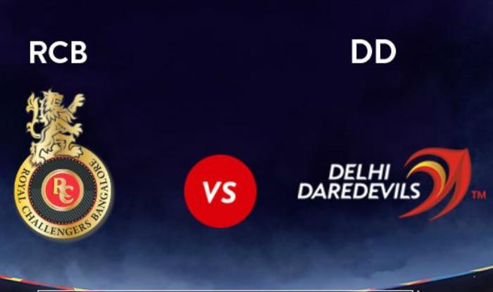 RCB vs DD