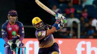 IPL 2017: केकेआर के रॉबिन उथप्पा की धमाकेदार बैटिंग, ठोकी 26 गेंदों पर हाफ सेंचुरी