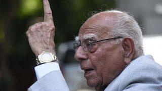 Veteran Lawyer Ram Jethmalani, 94, Announces Retirement For Legal Practice