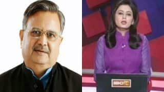 News anchor Supreet Kaur receives praise from Chhattisgarh CM Raman Singh