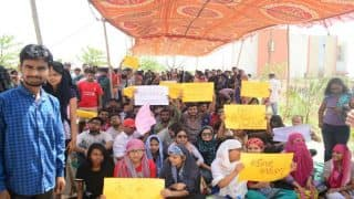 NUSRL Ranchi students protest demanding release of state funds and complete overhaul 'incompetent' administration