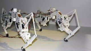 Robotic cheetah, with qualities similar to that of real animal, developed [Watch video]