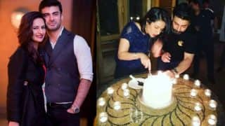 These pics from Fawad Khan's wife Sadaf's birthday bash will give you relationship goals