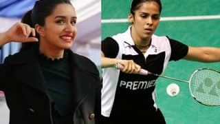 Saina Nehwal biopic: It's confirmed, Shraddha Kapoor to essay the badminton champion's role!