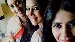 Ekta Kapoor's meeting with Smriti Irani and Sakshi Tanwar is making social media nostalgic! (See Picture)