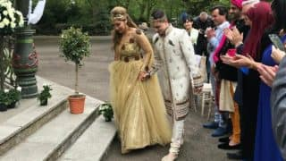 Sofia Hayat's grand marriage with Romanian beau Vlad Stanescu is nothing less than a fairytale! View all inside pictures here