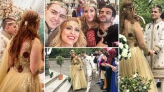 JUST MARRIED! Sofia Hayat married to Vlad Stanescu! (View wedding pictures)
