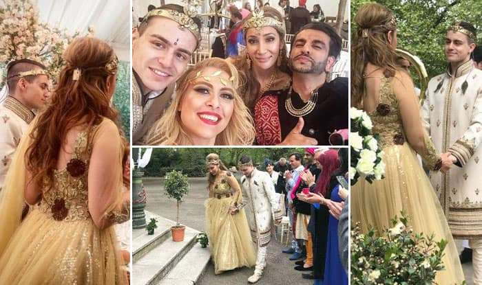 Sofia Hayat Gets Married To Her Romanian Beau In A Fairytale Wedding!!