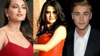 Sonakshi Sinha blocks singer Sona Mohapatra on Twitter, is Justin Bieber to be blamed?