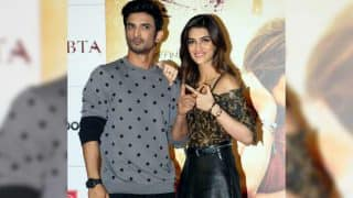 Sushant Singh Rajput defends Kriti Sanon and gets into an argument with a journalist over Pakistan's death sentence to Kulbhushan Jadhav