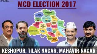 MCD Election results 2017: BJP manage to win Keshopur and Mahavir Nagar ward; AAP bags Tilak Nagar