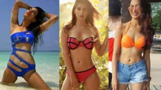 Nia Sharma, Karishma Sharma and Sriti Jha: These TV actresses show how to beat the heat!