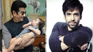 Golmaal Again teams showers their love on Tusshar Kapoor's son Laksshya!