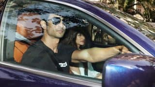 Sushant Singh Rajput reacts to his pics of going for a drive with Kriti Sanon
