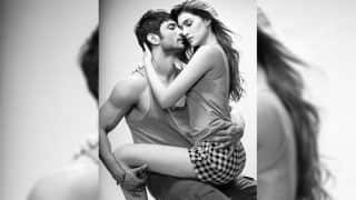 Kriti Sanon and Sushant Singh Rajput get too close for comfort in this sexy video!