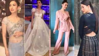 Begum Jaan actress Gauahar Khan's promotional style is affable! View Pictures