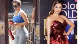 Malaika Arora Khan's astonishing style switch from Yoga class to Colors Golden Awards 2017! View Pictures