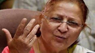 Sumitra Mahajan Writes to Piyush Goyal, Opposes Railways' Plan to Provide Massage Services on Trains