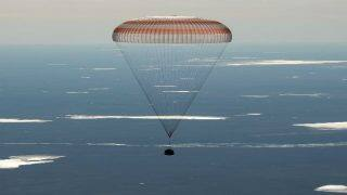 3 astronauts land safely on Earth after a 173 day mission at International Space Station