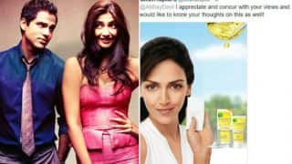 Abhay Deol's Fairness cream Facebook posts receive criticism from Sonam Kapoor! Twitter mercilessly trolls the actress for it