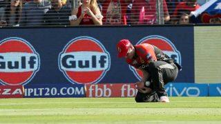 IPL 2017: एडम मिल्ने ने पकड़ा लगभग छूट चुका कैच, किसी को यकीन ही नहीं हुआ!