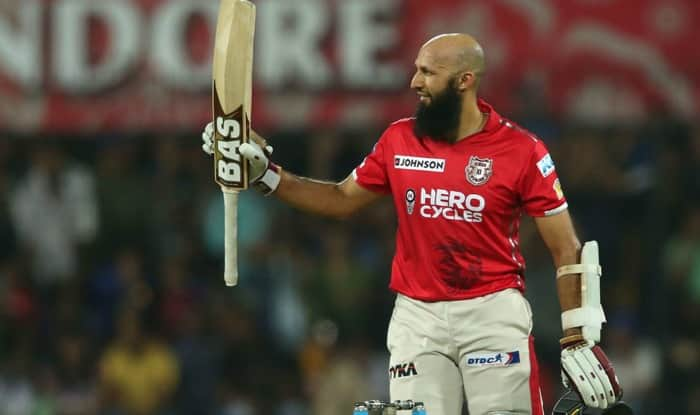 Hashim Amla after scoring his maiden T20 hundred | BCCI Image