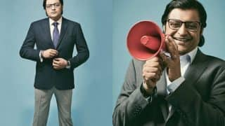 Arnab Goswami did a photoshoot with Man's World magazine and the pictures are weirdly hipster