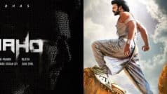 Prabhas starrer Saaho's special teaser will be released with Baahubali 2!