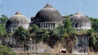 Babri Masjid demolition: Charges to be framed against LK Advani, MM Joshi, Uma Bharti tomorrow
