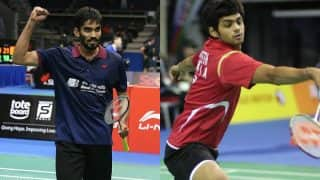 Kidambi Srikanth vs Sai Praneeth Singapore Open 2017 Final Highlights: Praneeth wins maiden Super Series title