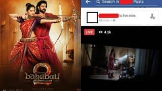 Bahubali 2 full movie leaked on Facebook Live! Baahubali: The Conclusion online video stream from Kuwait leaves filmmakers stressed!