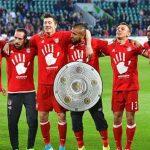 Bayern Munich clinch fifth straight Bundesliga crown with win at Wolfsburg
