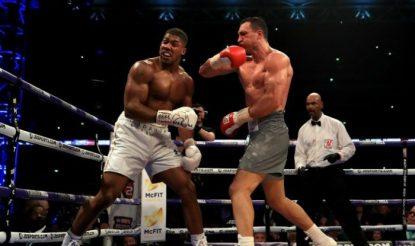 Anthony Joshua defeats Wladimir Klitschko in epic Wembley battle