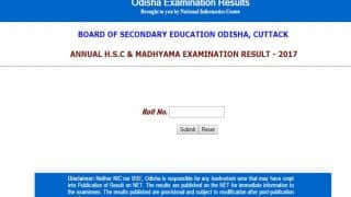 bseodisha.nic.in Odisha 10th Results 2017 out, check results here on alternate link