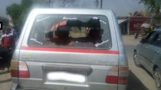 Bhind by-election 2017: Congress candidate's car vandalised in Ater, two injured