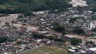 Over 150 people killed in Colombian landslides