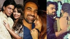 Shah Rukh Khan-Gauri, Zaheer Khan-Sagarika Ghatge & 8 other celebrity couples' rarely seen lovable pictures revealed!