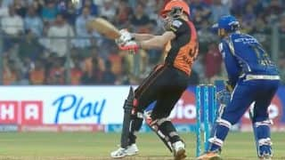 Sunrisers Hyderabad vs Mumbai Indians Highlights, IPL 2017 Match 48: SRH beat MI by seven wickets