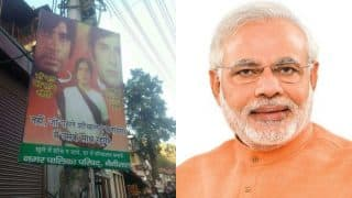 Swacch Bharat Poster: Deewar's iconic Amitabh Bachchan, Shashi Kapoor scene recreated, PM Narendra Modi is highly amused