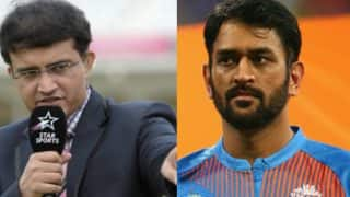 Sourav Ganguly Advice Mahendra Singh Dhoni to Approach T20s Differently