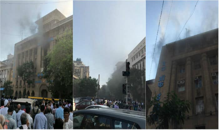 Fire breaks out on fourth floor of BOI headquarters