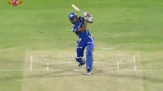 हार्दिक पंड्या का तूफान! आखिरी ओवर में बने 30 रन, जड़े चार छक्के, 1 चौका
