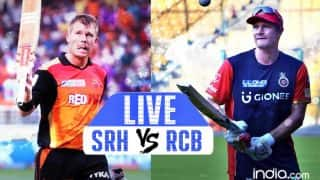 Sunrisers Hyderabad Vs Royal Challengers Bangalore IPL 2017 Highlights: SRH beat RCB by 35 runs