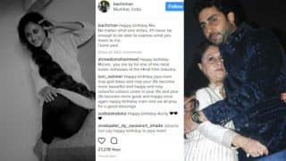 Jaya Bachchan gets sweetest wishes from Abhishek Bachchan on her 69th Birthday: Junior B shares Old picture of Mom on Instagram