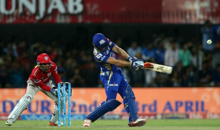 Ton-up Amla guides KXIP to 198 for 4 vs Mumbai Indians