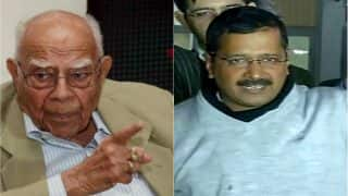 Arvind Kejriwal removes Ram Jethmalani as his lawyer, says report; AAP denies it