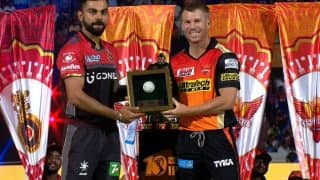 IPL 2020: SRH's David Warner Reacts to RCB Fan For Backing Virat Kohli-Led Team to Lift Title in UAE