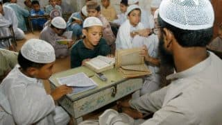 Gorakhpur Madrasa Students Studying Sanskrit; Say They Enjoy Learning The Subject